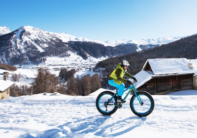 Fat Bike a Livigno